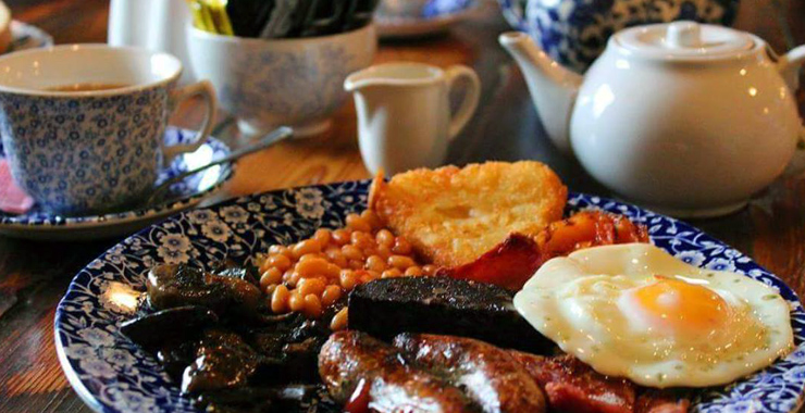 Full English and a breakfast tea