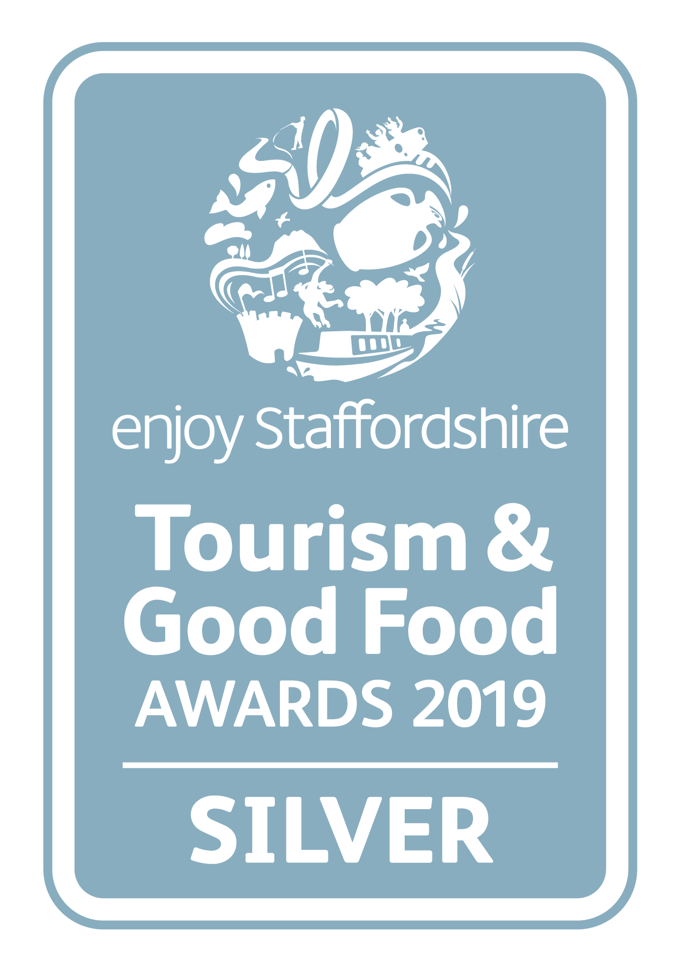 Enjoy Staffs Tourism Good Food Awards SILVER 2019